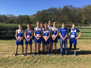 Boys' Cross country team