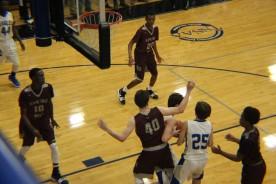 Brian takes the rebound 3
