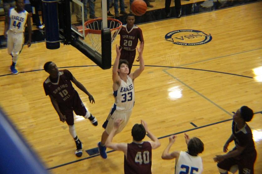 Brian takes the rebound