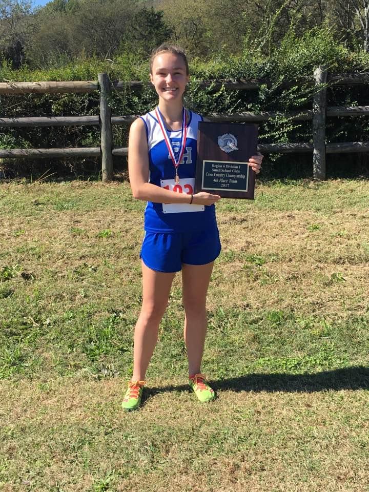 Olivia Plunkett 4th place