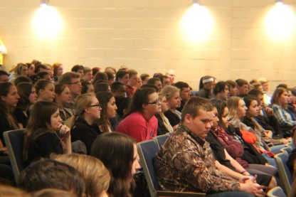Audience during speaker
